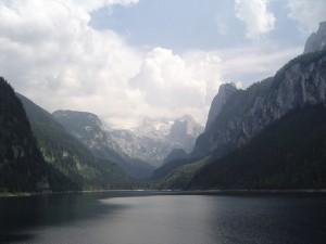 Lac de montagne, Autriche