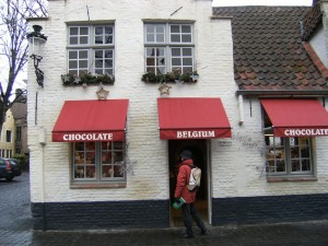Magasin de chocolat belge, Bruges