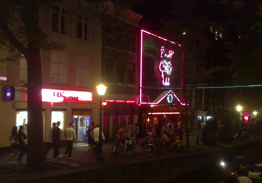 Red Light District (Quartier Rouge), Amsterdam