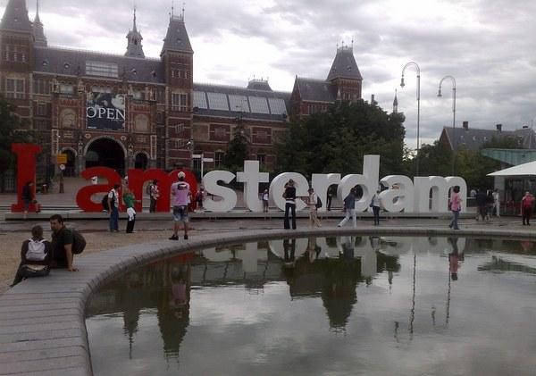 Logo I Amsterdam