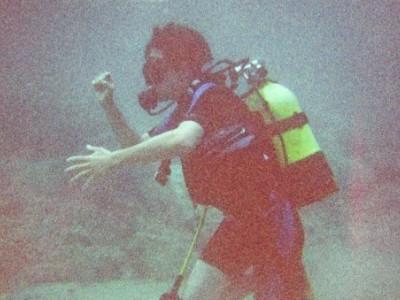 Baptême de plongée à 5 mètres de profondeur, Mlini, Croatie