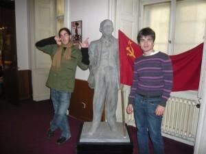 Musée du communisme et drapeau URSS, Prague