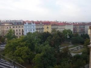 Parcs et maisons, Centre ville de Prague