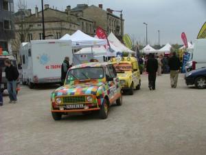 Village départ de Bordeaux du 4L Trophy 2009