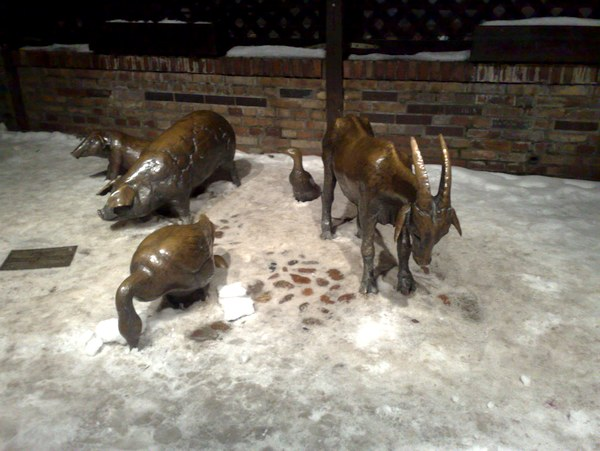 Statues d'animaux, Wroclaw
