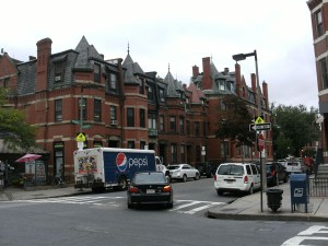 Centre ville de Boston