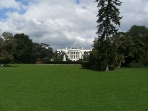 Maison blanche et son jardin, Washington
