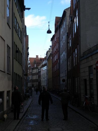 Ruelle, centre ville de Copenhague