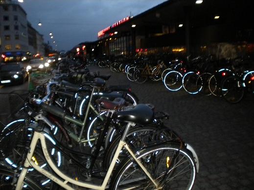 Vélos, Copenhague, au Danemark