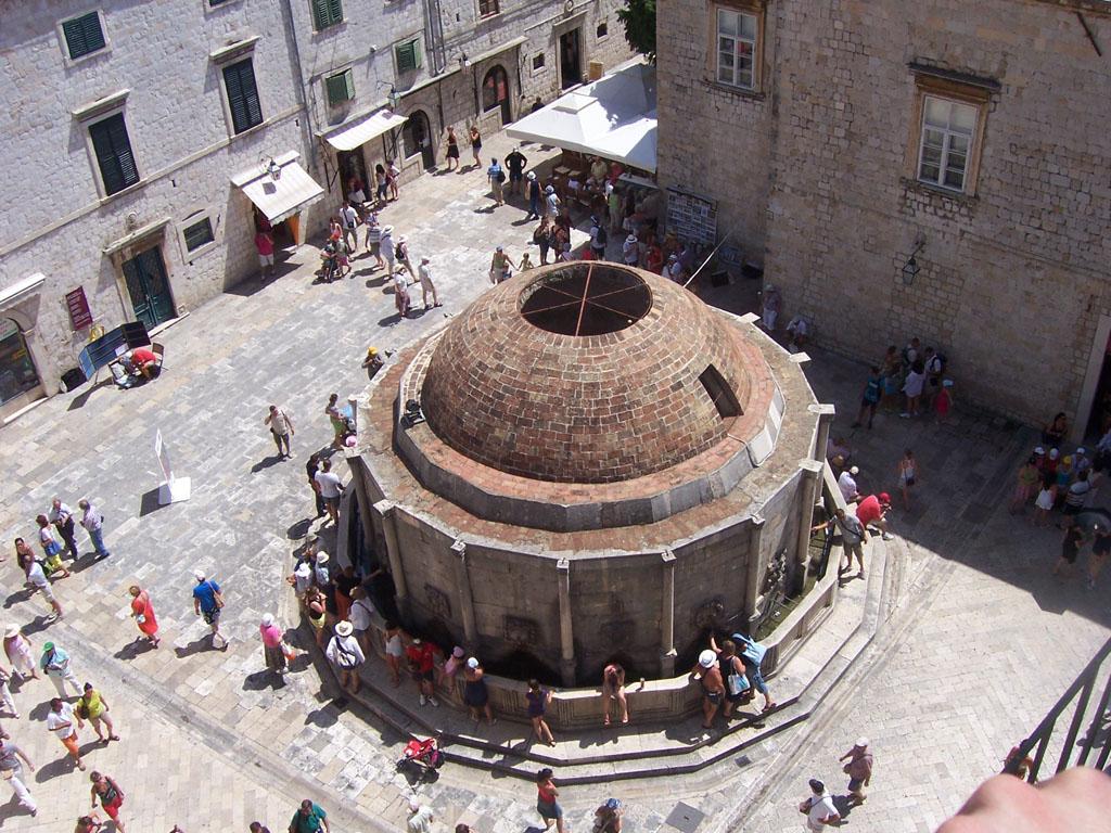Coupole, centre ville de Dubrovnik