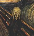 La peur, d'Edward Munch