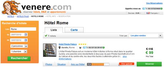 Comment se loger rome pour pas cher candix for Site pour trouver hotel pas cher